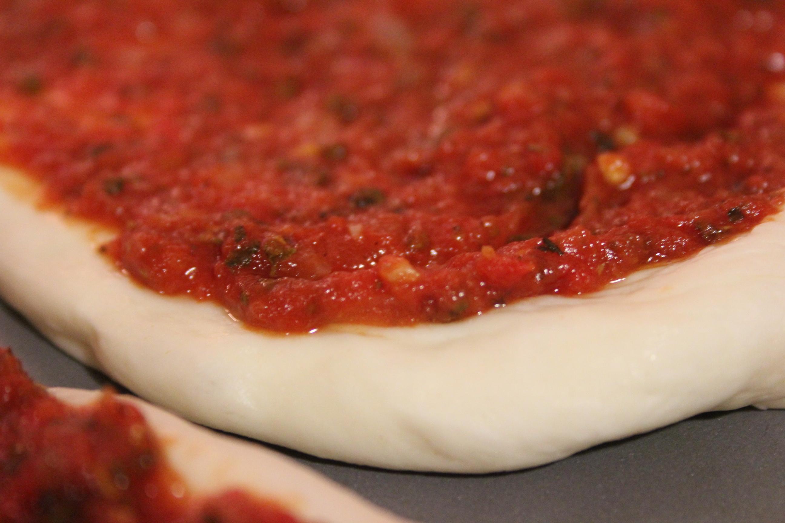 Homemade Pizza Sauce Scratch